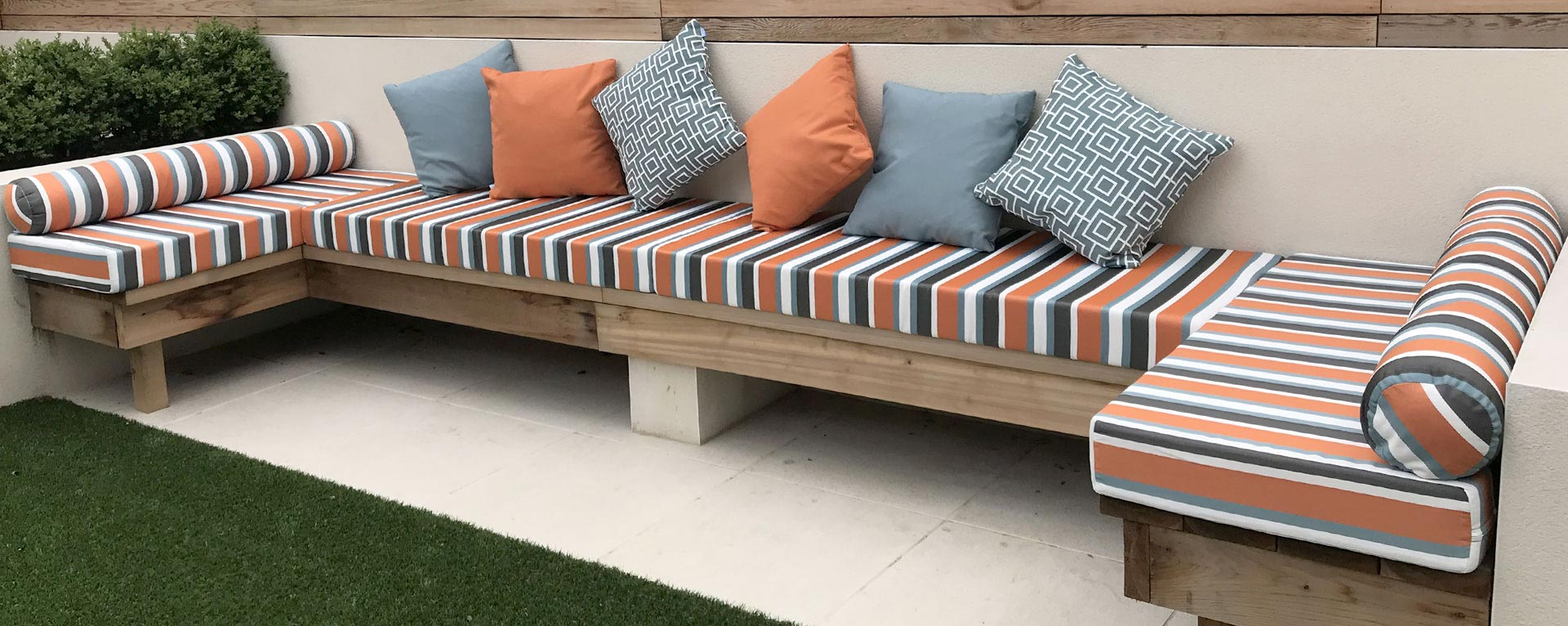 Bespoke Made-to-measure Outdoor Cushions