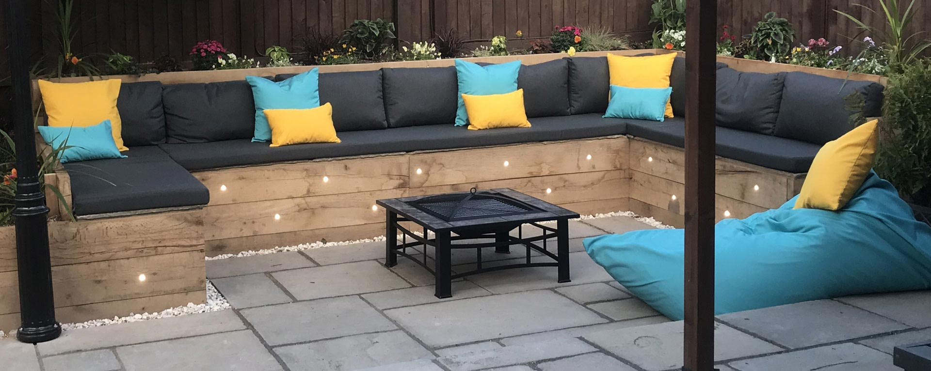 Bespoke Outdoor Cushions for garden and patio furniture