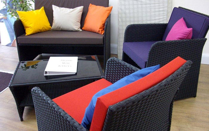 Outdoor furniture cushions for you to try out!