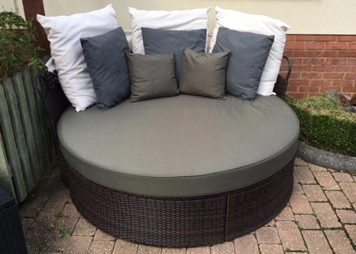 Bespoke Outdoor Cushions For Garden Furniture Foam Filling Options