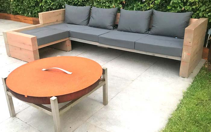 Outdoor cushions that are suitable for all outdoor living seating areas