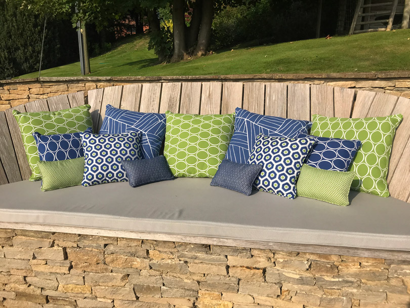 Our Bespoke Outdoor Cushions For Garden, Waterproof Cushions For Outdoor Furniture Ireland