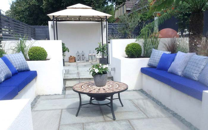 Bespoke Outdoor Cushions for seating areas close to a heat source such as fire pits