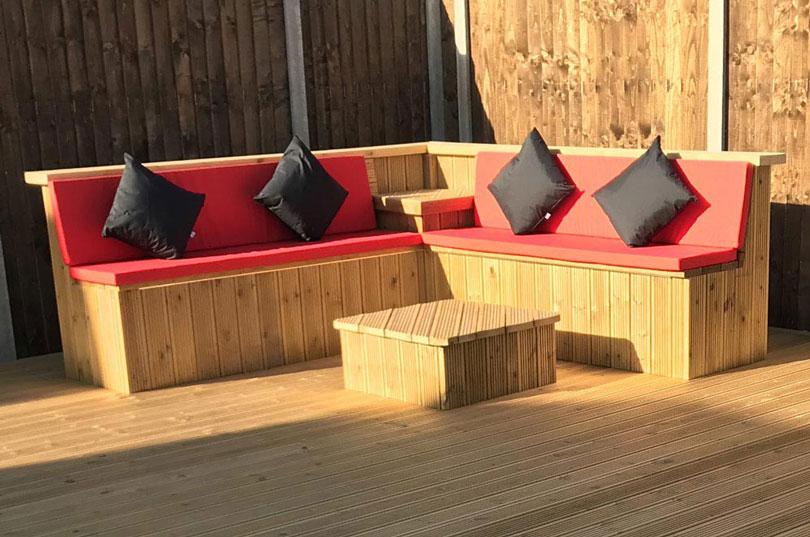 Outdoor Cushions For Garden Furniture Bespoke Weatherproof